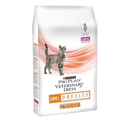 Корм для кошек Purina Pro Plan Veterinary Diets OM 1,5 кг