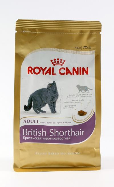Корм для кошек Royal Canin BRITISH SHORTHAIR 400 г.