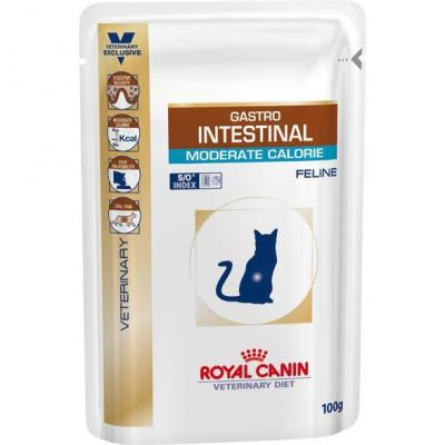 Корм для кошек Royal Canin GASTRO INTESTINAL MODERATE CALORIE FELINE 100 г.