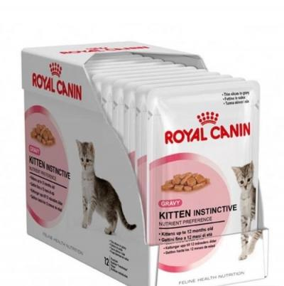 Корм для кошек Royal Canin KITTEN INSTINCIVE 12 x 85 г.