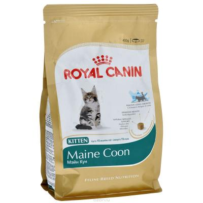 Корм для кошек Royal Canin KITTEN MAINE COON 400 г.