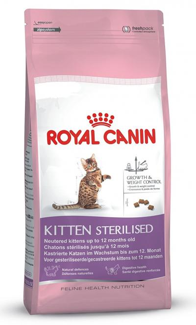 Корм для кошек Royal Canin KITTEN STERILISED 2000 г.