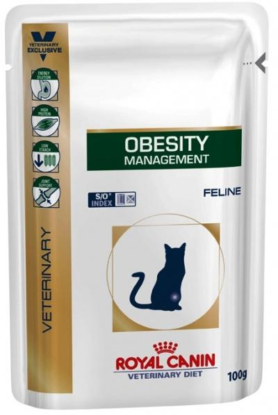 Корм для кошек Royal Canin OBESITY MANAGEMENT FELINE 100 г.