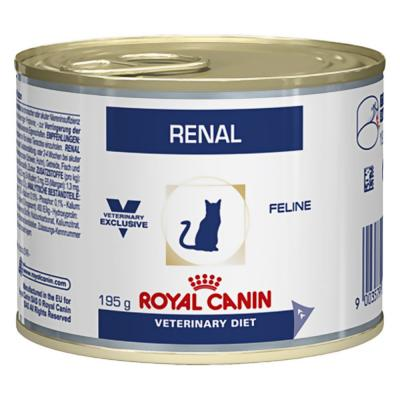 Корм для кошек Royal Canin RENAL FELINE WITH CHICKEN 195 г.