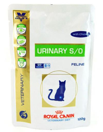 Корм для кошек Royal Canin URINARY S/O FELINE WITH CHICKEN 100 г.