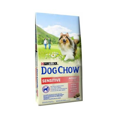 Корм для собак Purina Dog Chow Adult Sensitive Лосось 14 кг