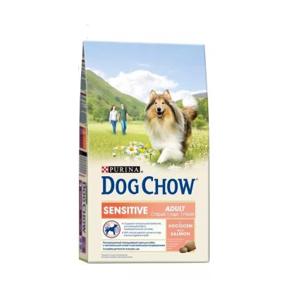 Корм для собак Purina Dog Chow Adult Sensitive Лосось 800 гр