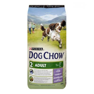 Корм для собак Purina Dog Chow Adult Ягненок 14 кг