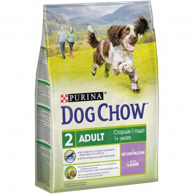 Корм для собак Purina Dog Chow Adult Ягненок 2,5 кг