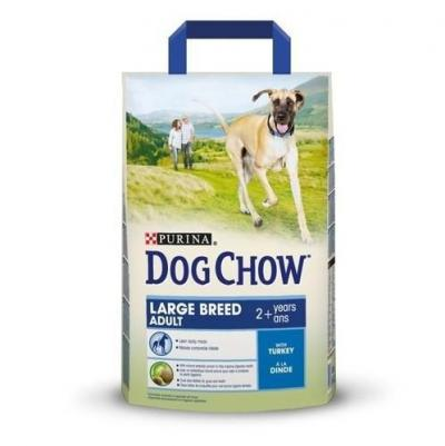 Корм для собак Purina Dog Chow Large Breed Adult Индейка 2,5 кг