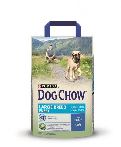 Корм для собак Purina Dog Chow Large Breed Puppy Курица 2,5 кг