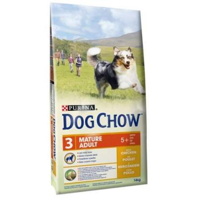 Корм для собак Purina Dog Chow Mature 5+ Курица 14 кг