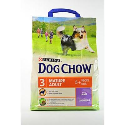 Корм для собак Purina Dog Chow Mature 5+ Ягненок 2,5 кг
