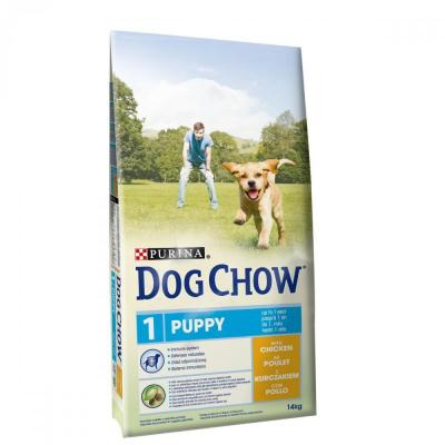 Корм для собак Purina Dog Chow Puppy Курица 14 кг