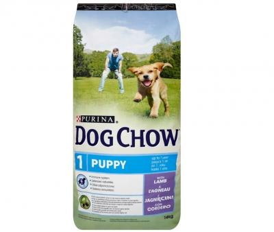 Корм для собак Purina Dog Chow Puppy Ягненок 14 кг