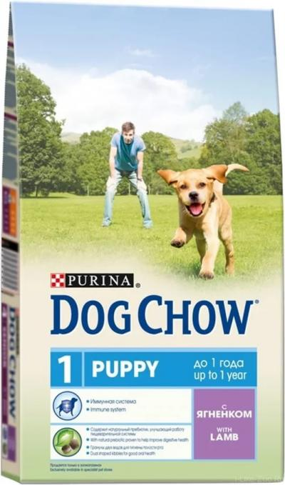 Корм для собак Purina Dog Chow Puppy Ягненок 2,5 кг