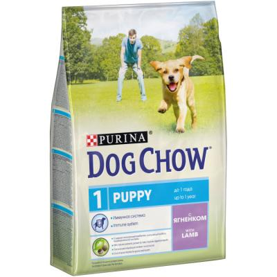 Корм для собак Purina Dog Chow Puppy Ягненок  800 гр