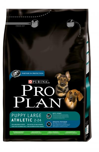 Корм для собак Purina Pro Plan Large Puppy Athletic Sensitive Digestion Ягненок с рисом 14 кг