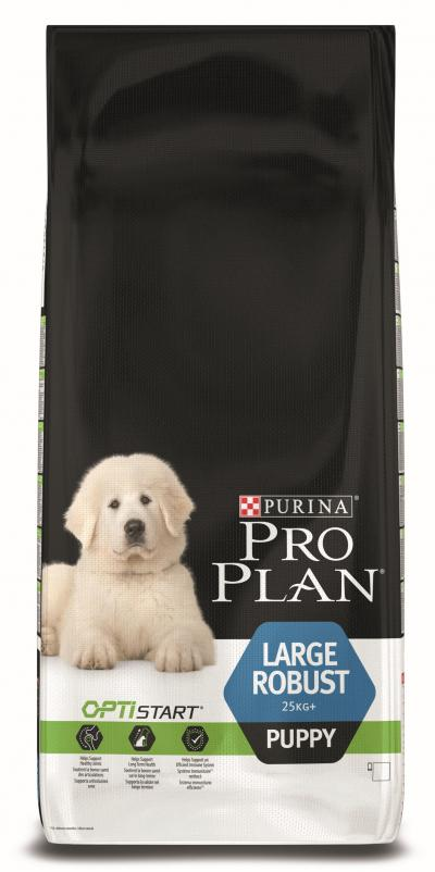 Корм для собак Purina Pro Plan Large Puppy Robust Курица с рисом 12 кг