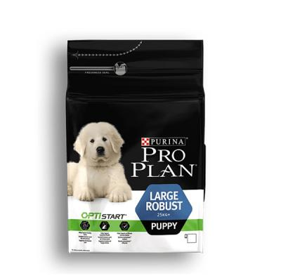 Корм для собак Purina Pro Plan Large Puppy Robust Курица с рисом 3 кг