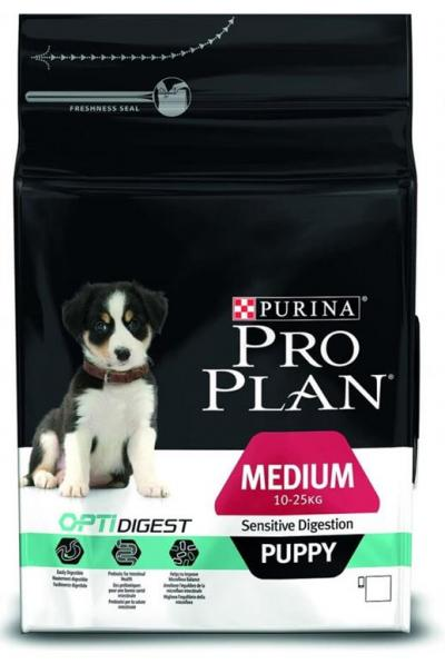 Корм для собак Purina Pro Plan Medium Puppy Sensitive Digestion Ягненок с рисом 1,5 кг