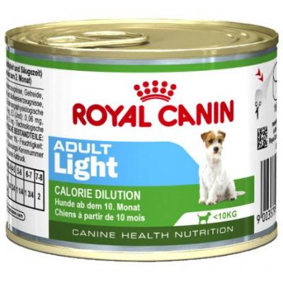 Корм для собак Royal Canin ADULT LIGHT 195 г.