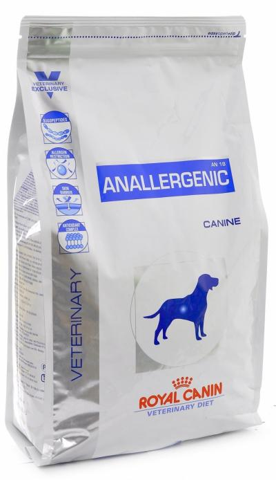 Корм для собак Royal Canin ANALLERGENIC AN 18 CANINE 8000 г.