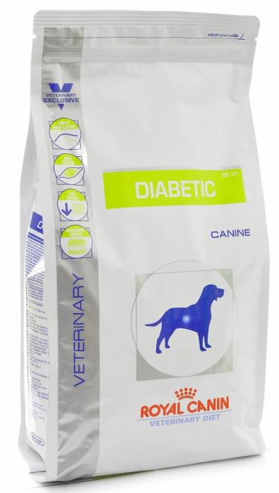 Корм для собак Royal Canin DIABETIC DS 37 CANINE 12000 г.
