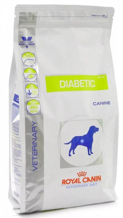 Корм для собак Royal Canin DIABETIC DS 37 CANINE 1500 г.