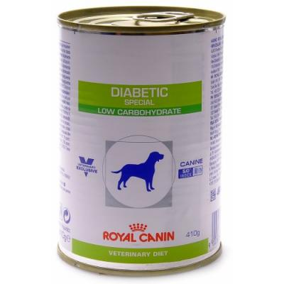 Корм для собак Royal Canin DIABETIC SPECIAL LOW CARBOHYDRATE CANINE 410 г.
