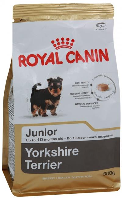 Корм royal canin для щенков йорков