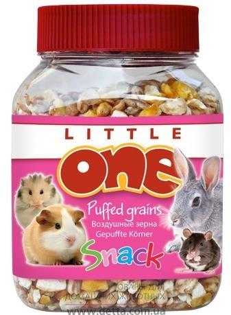 Вкусняшки Little One Puffed Grains Воздушные зерна 100 гр